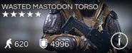 Wasted Mastodon Torso