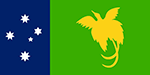 New Guinea Flag Small