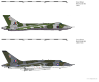 Avro Vulcan (B.2 - B.3 Comparison)