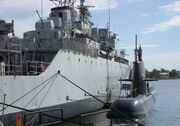 HSwMS Uppland and HSwMS Visborg