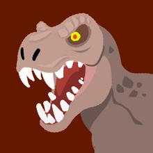 Agario t-rex