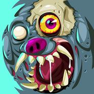 Zombie party zombie dog hi