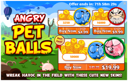 Angry Pet Balls - Offer