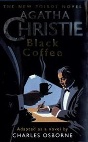 Black Coffee First Edition Cover 1998