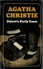 Poirot's Early Cases First Edition Cover 1974