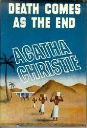 Death Comes as the End 1944 US First Edition cover