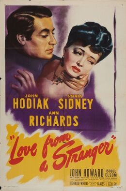 Love from a Stranger FilmPoster