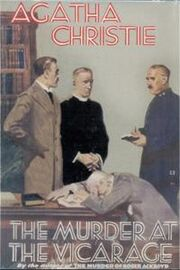The Murder at the Vicarage First Edition Cover 1930