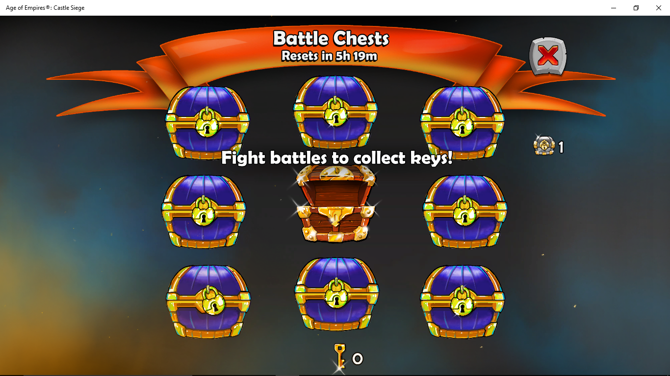 Castle siege age of empires how to beat historical challenge - Battle Chests Age Of Empires Castle Siege Wiki Fandom Powered By Wikia