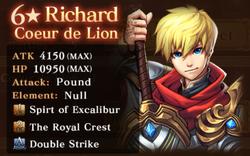 NR Richard Reward