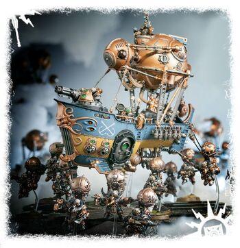 Arkanaut Ironclad Skyriggers Kharadron diorama