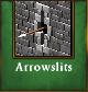 Arrowslitsavailable