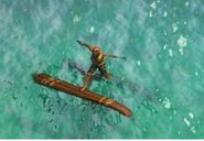Lol catamaran sinking
