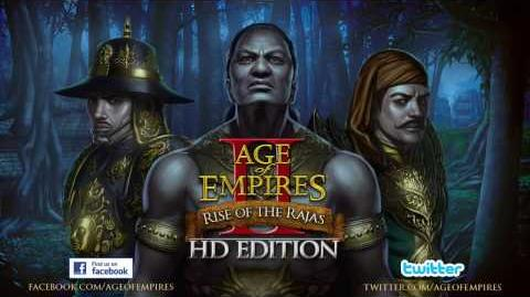 Age of Empires II HD- Rise of the Rajas Official Trailer