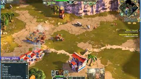 Age of Empires Online Walkthrough - Pt.150 Greek - Defeat Salamis (II)