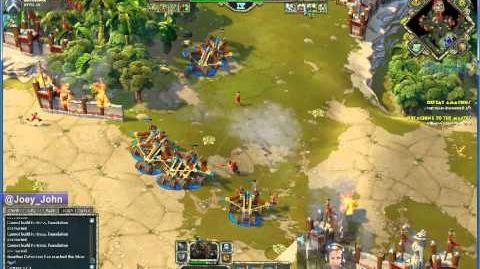 Age Of Empires Online Walkthrough - Pt.178 Greek - Defeat Amathus (III)