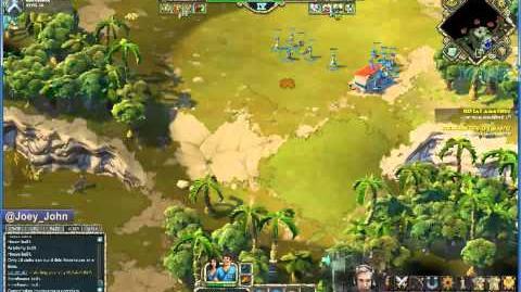 Age Of Empires Online Walkthrough - Pt.177 Greek - Defeat Amathus (II)