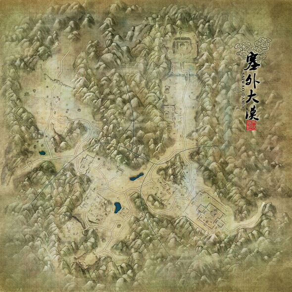 Northern Desert Map