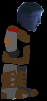 Leopold Slikk In HEV Suit With Arms