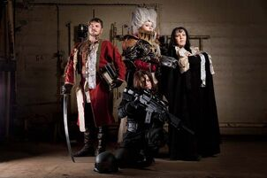 Warhammer inquisition team cosplay by alberti-d5oonji