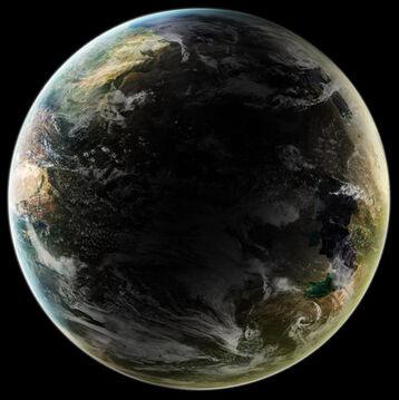 Terra Nova Planet Resource by Burning Liquid