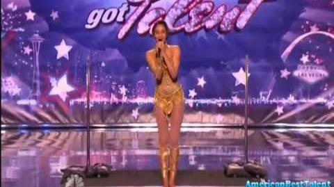 Shemika Charles on America's Got Talent