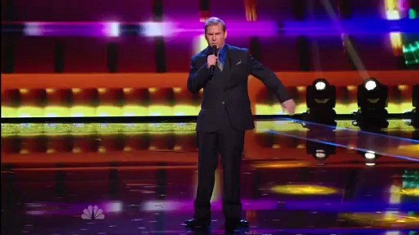 Tom Cotter, 1st Semifinal ~ America's Got Talent 2012