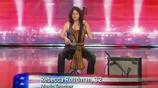 Rebecca Roudman, 32 ~ America's Got Talent 2010, auditions Portland Oregon