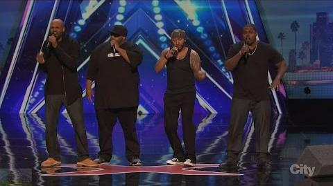 America's Got Talent 2016 Linkin' Bridge Not Your Normal Barbershop Quartet Full Clip S11E01