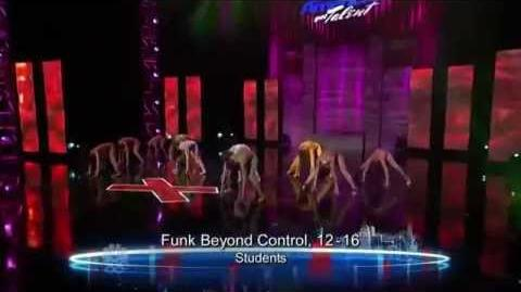 Funk Beyond Control - Vegas Round - America's Got Talent 2012
