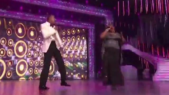 "Sponjetta Parrish ""Studio"" featurning Nick Cannon and T-Pain on America's Got Talent FINALE-0"