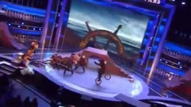 Yellow Designs Stunt Team ~ America's Got Talent 2011 Wild Card