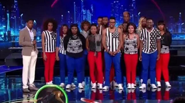 Inspire The Fire, Top 48 Live Q3 ~ America's Got Talent 2012-0