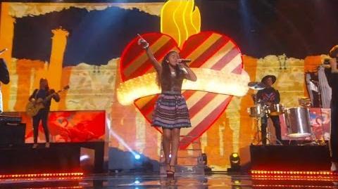 America's Got Talent 2015 S10E23 Semi-Finals - Alondra Santos Teen Mariachi Singer