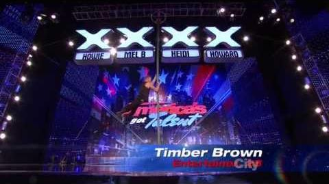 Timber Brown - America's Got Talent 2013 Season 8 Auditions