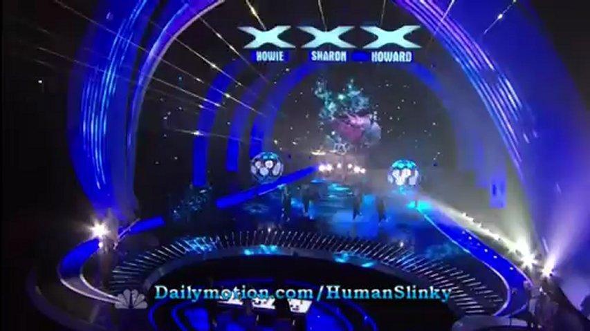William Close, 1st Semifinal ~ America's Got Talent 2012