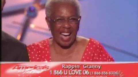 America's Got Talent - Rappin Granie 2
