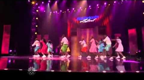 Inspire The Fire - Singing & Dancing Troupe - Vegas Round - America's Got Talent 2012