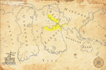 Map - Maximal extension Dumian Empire