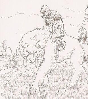 Crop warg rider by shabazik