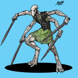 Hatiyara sworddemon by shabazik-d5yj90t