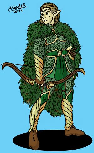 Silvan elf captain by shabazik-d5nogzz