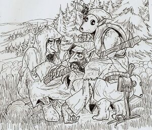 Ur dur goblin archer by shabazik-d4jd24z