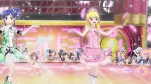 Aikatsu Episode 31 Hoshimiya Ichigo Kiriya Aoi Wake up Music Performance