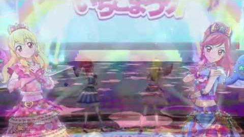 (HD)Aikatsu!-Ichigo&her friends-Idol Activity!+Diamond Happy,Happy Crescendo,Friend (The Movie)
