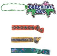 Bohemian Sky Hair and Charm