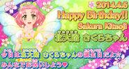 Birthday 2014 sakura