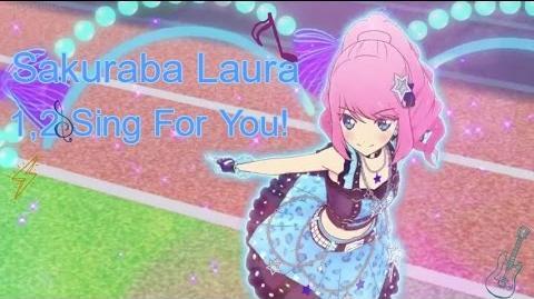 Sakuraba Laura「1,2 Sing For You!」
