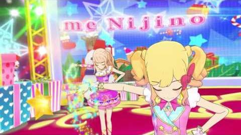 (HD) Aikatsu Stars - Episode 37 - Yume, Laura, Ako, & Mahiru - We wish you a merry Christmas -