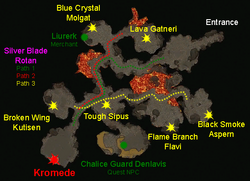 Fire Temple boss map